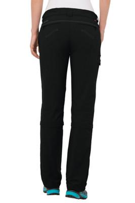 skomer zip off damen wanderhose in schwarz vaude online kaufen. Black Bedroom Furniture Sets. Home Design Ideas