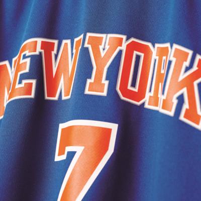 Comprare New York Knicks NBA Replica Uomo in blu di Adidas Performanc