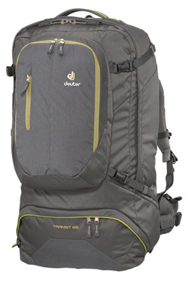 transit 65 l rucksack in anthrazit deuter online kaufen. Black Bedroom Furniture Sets. Home Design Ideas