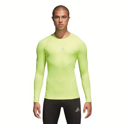 Adidas AlphaSkin Sport Funktionsshirt Herren gelb im Online