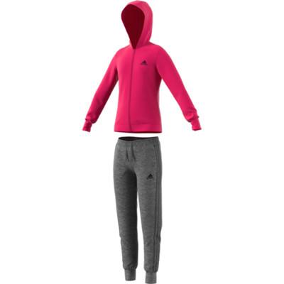 b99941dcb2324 Acheter à prix avantageux YG Hooded survêtement filles en gris de Adidas  Performance dans la boutique en ligne
