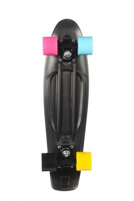pvc skateboard 22 unisex in schwarz no name online kaufen. Black Bedroom Furniture Sets. Home Design Ideas