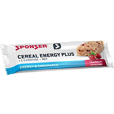 Image of Cereal Energy Plus 15 x 40 g Sportriegel