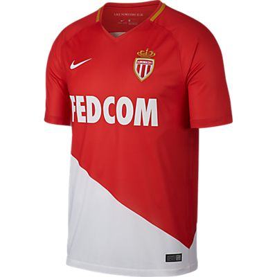 Image of AS Monaco Home Replica Herren Fussballtrikot