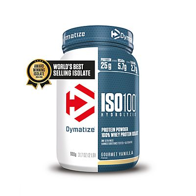 Image of Iso 100 Gourmet Vanille 900g Proteinpulver