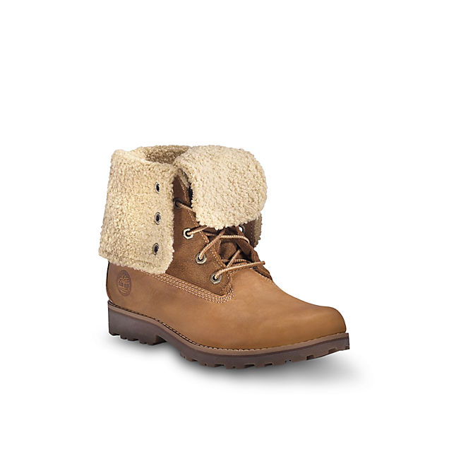 Timberland Faux Shearling 6 `` chaussures d'hiver femmes