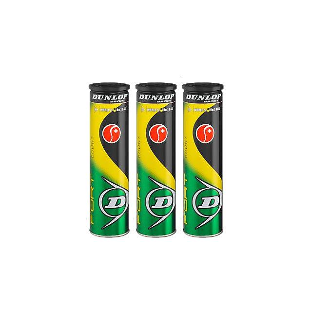 Dunlop 3-Pack For All Court Tennisball