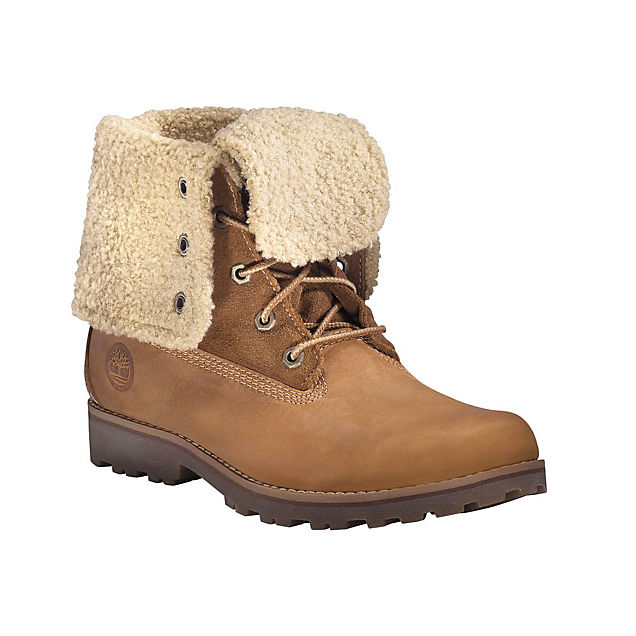Timberland Faux Shearling 6 `` scarpa invernale donna