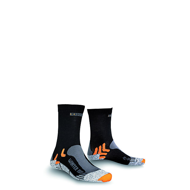 X-Socks Winter Run 45-47 calze da corsa uomo