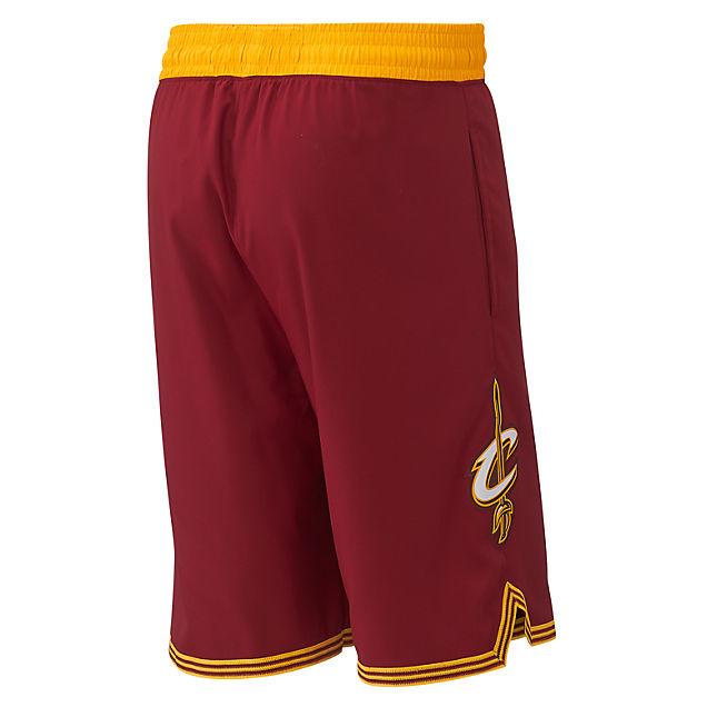 e813ff1c02de Cleveland Cavaliers Short in gelb von adidas günstig im Online-Shop ...