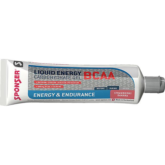 Sponser Liquid Energy BCAA 20 x 70 g gel énergétique