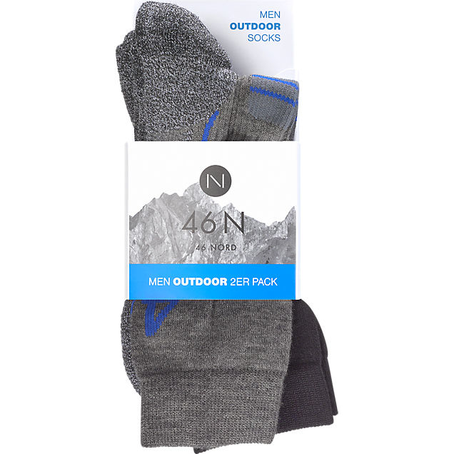 46 Nord 2er Pack  35-47 socks