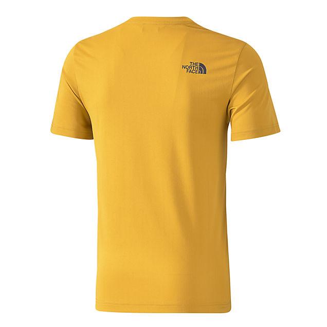 tanken herren t shirt in gelb the north face online kaufen. Black Bedroom Furniture Sets. Home Design Ideas
