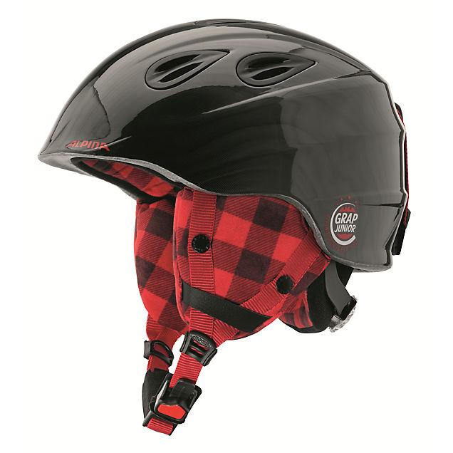 grap 2 0 kinder skihelm in schwarz rot alpina online. Black Bedroom Furniture Sets. Home Design Ideas