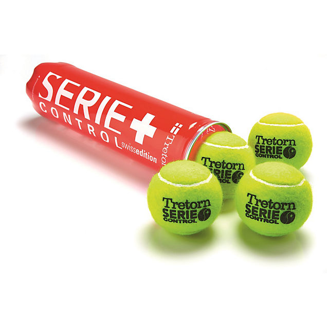 Tretorn Serie+ Control Swiss Ed. ballon de tennis
