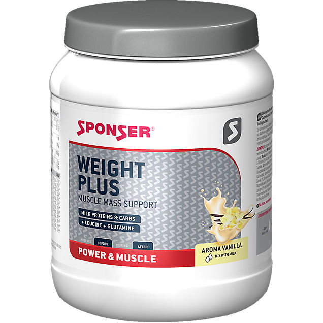 Sponser Weight Plus 900 g Proteinpulver