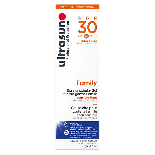 Ultrasun Family 150 ml Sonnencreme