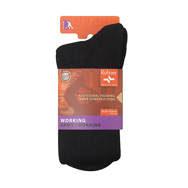 Rohner Swiss Army 42-44 chaussettes hommes