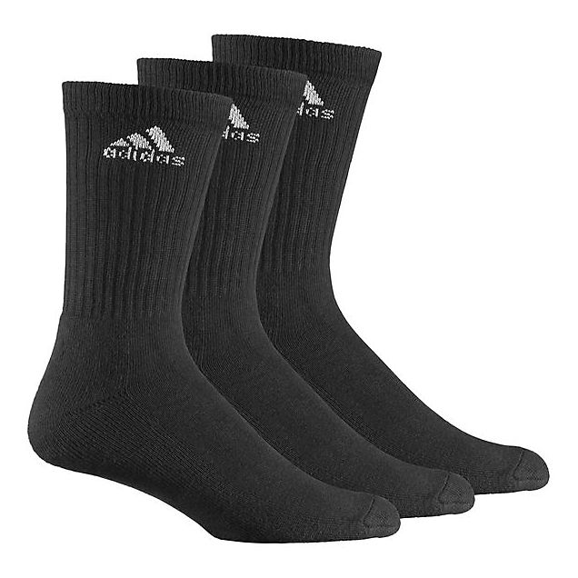 adidas Performance 3-Pack Performance 35-38 chaussettes