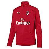 AC Milan Zip longsleeve hommes