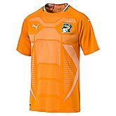 Costa d'Avorio Home Replica maglia da calcio uomo