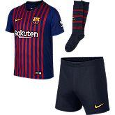 FC Barcelona Home Replica set calcio bambini