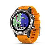 Fenix 5 Plus Saphir Titanium montre de sport