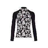 Flower lycra shirt donna