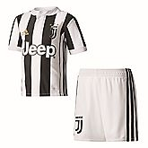 Juventus Turin Home Replica Kinder Fussballset