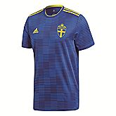 Schweden Away Replica maglia da calcio uomo