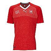 Suisse Home Replica maillot de football enfants