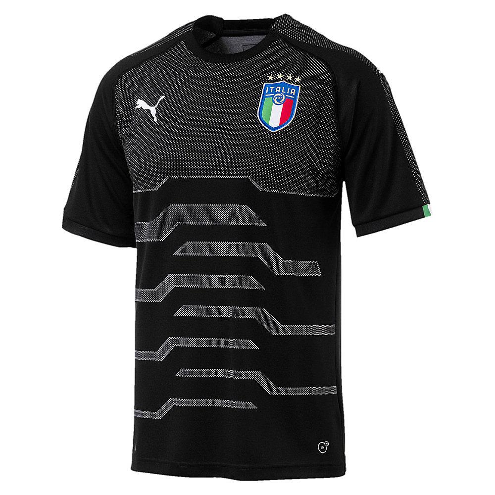 59f7388741bd9 Italien Replica Herren Torwarttrikot in schwarz - Puma