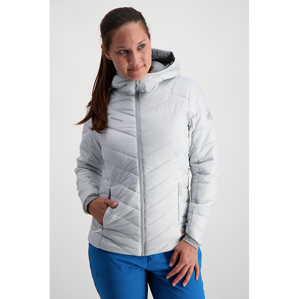 Mammut Femme Rime Isolé Veste Top Rose Sports Outdoors full zip à capuche