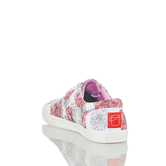 Bucketfeet Lace Up Dots Donna
