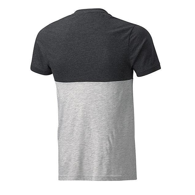 bvb herren t shirt in grau von no name g nstig im online shop kaufen. Black Bedroom Furniture Sets. Home Design Ideas