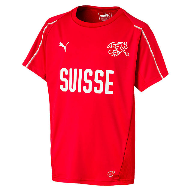 Puma Suisse Training Kinder Trikot