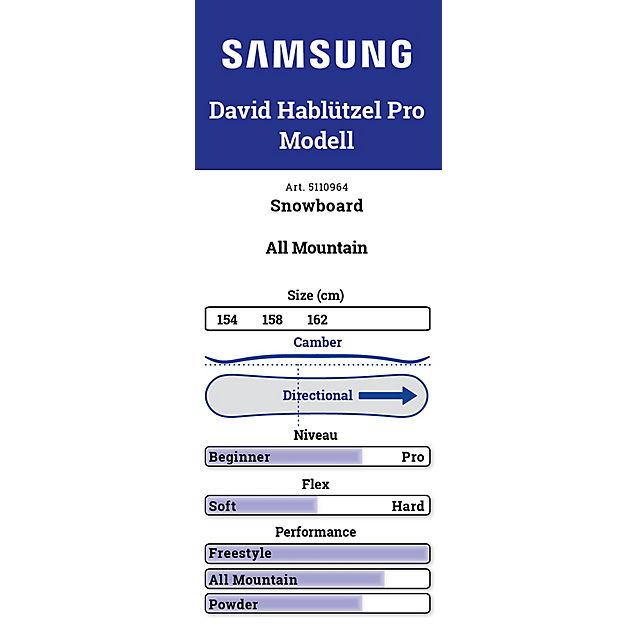 Samsung David Hablützel Pro Herren Snowboard