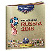 2018 FIFA World Cup offizielles Stickeralbum Gold Edition