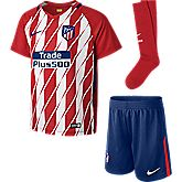 Atlético Madrid Home Replica Kinder Fussballset