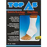 Bandage pour cheville bi-élastique