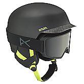 Blitz Cracked Black casco da sci uomo