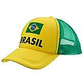 Brasile fan cap