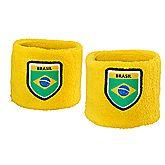 Brasilien Fan Schweissband