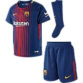 FC Barcelona Home Kinder Fussball Set