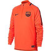 FC Barcelona Squad Drill top bambini