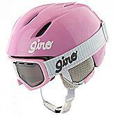 Launch Combo casco da sci + occhiali da sci bambina