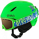 Launch Combo casco da sci + occhiali da sci bambini