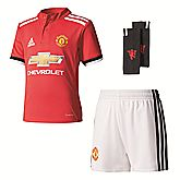 Manchester United Home Replica Minikit Kinder Trainingsanzug