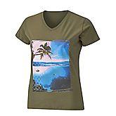Print Logo t-shirt femmes
