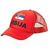 Serbie fan cap